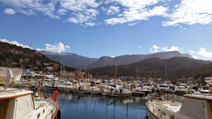 Ausblick auf Hafen