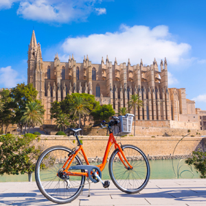 Fahrrad fahren in Palma