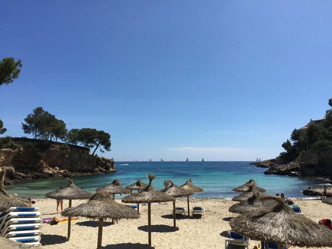 Strand cala bendinat auf mallorca s dk ste for Design hotel mallorca strand